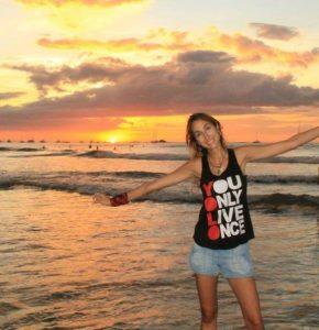 Costa Rica Sunset YOLO