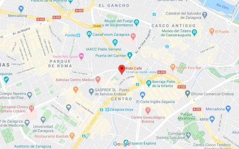 Mapa Kids Café