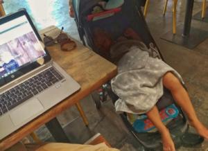 Trabajar desde casa con tus hijos
