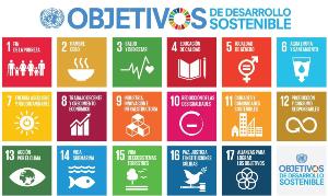 ODS Objetivos de Desarrollo Sostenible